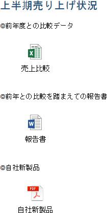 会議資料の例