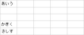 結合後の表