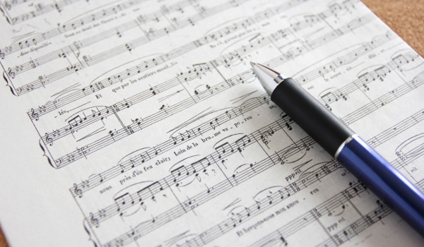OneNote の活用事例 - 楽譜として使う